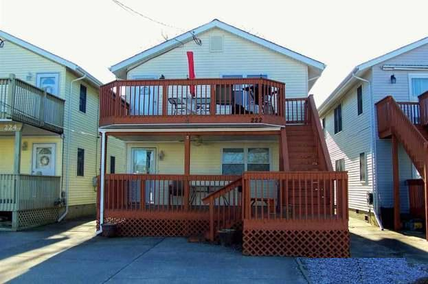 222 East 17th Avenue – Unit 2 – North Wildwood Seasonal Summer Vacation Rentals – 3 Bedroom 1 Bath Condo located 2 blocks to the beach in North Wildwood. Offers full kitchen, living room, central air and large deck. Parking for 2. Sleeps 7; 2 Queens, 1 Double, 1 Single. North Wildwood Rentals, Wildwood Rentals, Wildwood Crest Rentals and Diamond Beach Rentals in all price ranges for weekly, monthly, seasonal and weekend vacation rentals plus Wildwood real estate sales of homes, condos, vacation and investment properties in and around Wildwood New Jersey. We offer over 400 properties plus exclusive vacation homes so you can book the shore rental of your choice online and guarantee your vacation at the Shore. Rent with confidence at Island Realty Group! Visit www.wildwoodrents.com to book online or call our office at 609.522.4999. Our office at 1701 New Jersey Avenue in North Wildwood is open 7 days a week!