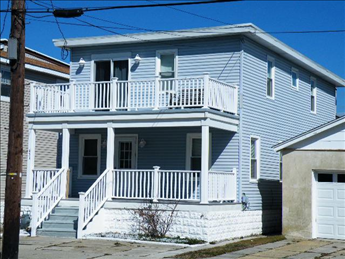 431 EAST 18TH AVENUE #1 - NORTH WILDWOOD SUMMER SEASONAL RENTALS at WILDWOODRENTS.COM - Two bedroom, one bath vacation home located one block to the beach and boards in North Wildwood. Sleeps 4;  2 queen. Unit offers full kitchen with range, fridge, dishwasher, microwave, toaster, and coffee maker. Amenities include central air conditioning, shared washer, outside shower, ceiling fans, one car off street parking. LOCATION! North Wildwood Seasonal Rentals, Wildwood Rentals, Wildwood Crest Rentals and Diamond Beach Rentals in all price ranges for weekly, monthly, seasonal and weekend vacation rentals plus Wildwood real estate sales of homes, condos, vacation and investment properties in and around Wildwood New Jersey. We offer over 400 properties plus exclusive vacation homes so you can book the shore rental of your choice online and guarantee your vacation at the Shore. Rent with confidence at Island Realty Group! Visit www.wildwoodrents.com to book online or call our office at 609.522.4999. Our office at 1701 New Jersey Avenue in North Wildwood is open 7 days a week!