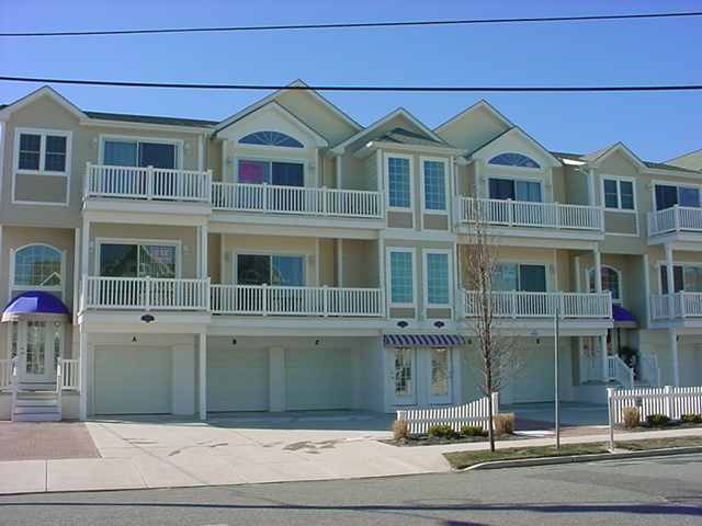 "430 East 24th Avenue ""D"" - Ocean Haven Condos in North Wildwood - 3 bedroom, 2 bath condominium is ideally located just steps to the beach and boardwalk. Condo amenities include central air conditioning, private washer and dryer, dishwasher, expanded cable, TV's in all bedrooms, wireless internet, deck with furniture, outside shower, 2 car shared garage parking and more!  This is a non-smoking unit, no pets. Book early, VERY popular complex!"