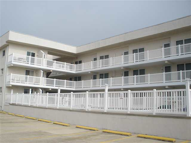 501 EAST 3RD AVENUE IN NORTH WILDWOOD - OCEAN MONARCH #102 - NORTH WILDWOOD SUMMER VACATION RENTALS - Two bedroom, one bath condo located ground level at the Ocean Monarch. Condo has a full kitchen with range, dishwasher, fridge, microwave, coffeemaker, toaster and disposal. Amenities include central a/c, pool, one car off street parking, washer/dryer, balcony. Sleeps 6; full, 2 twin and sleep sofa. Ocean Monarch Rentals, North Wildwood Rentals, Wildwood Crest Rentals and Diamond Beach Rentals in all price ranges for weekly, monthly, seasonal and weekend vacation rentals plus Wildwood real estate sales of homes, condos, vacation and investment properties in and around Wildwood New Jersey. We offer over 400 properties plus exclusive vacation homes so you can book the shore rental of your choice online and guarantee your vacation at the Shore. Rent with confidence at Island Realty Group!