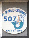 507 EAST 9TH AVENUE #5 at the MERMAID CONDOS - Adorable studio condo located steps to the pristine beaches in North Wildwood. Condo has a full kitche with range, fridge, microwave, toaster and coffeemaker. Amenities include: wall a/c, gas grill, common washer/dryer, balcony, outside shower and one car off street parking. Sleeps 2; twin trundle which extend to a King when assembled.
